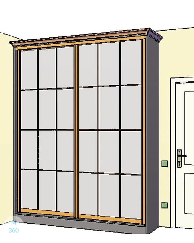 Дизайнерский шкаф на заказ Арт 8