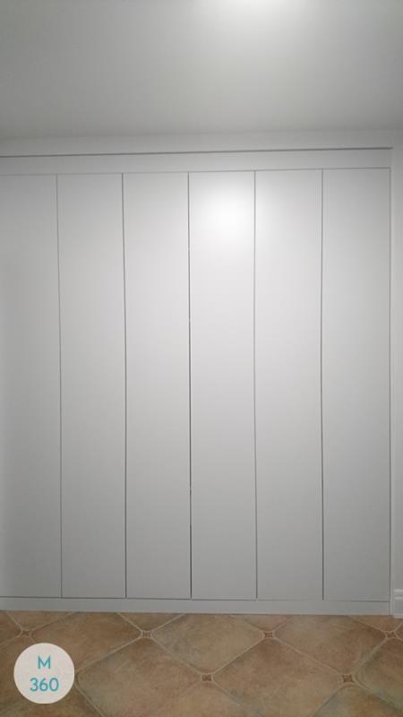 Белый распашной шкаф Тонга Арт 000383469
