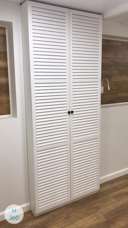 Шкаф с жалюзийными дверцами Дэви Арт 000455221