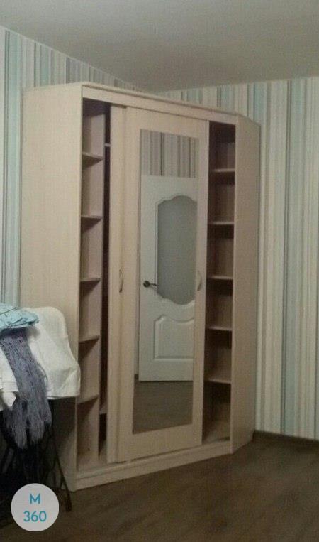 Шкаф с фацетными зеркалами Оспиталет Арт 000491659