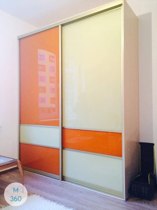 Цветной шкаф купе Папоротник Арт 000630167