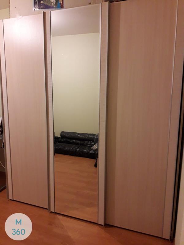 Шкаф с фацетными зеркалами Котлас Арт 000714546