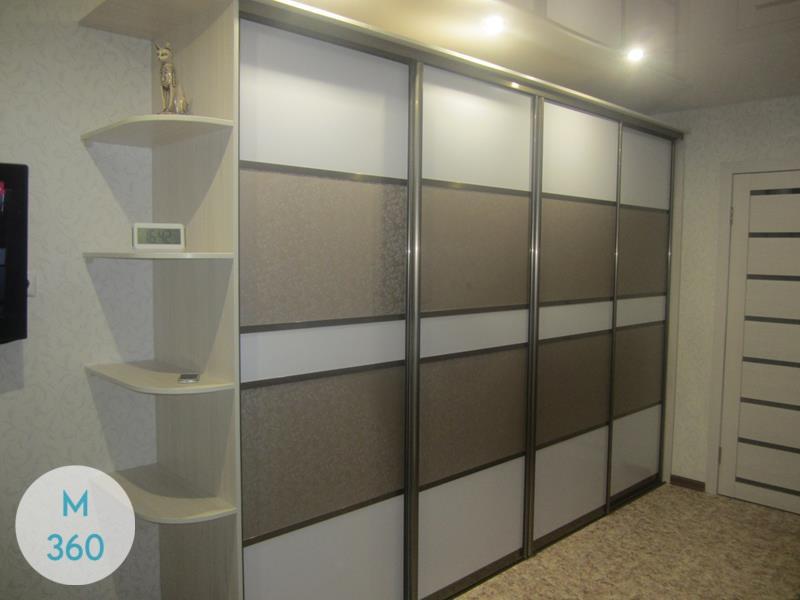Шкаф купы с пескоструйным рисунком Киншаса Арт 000826419