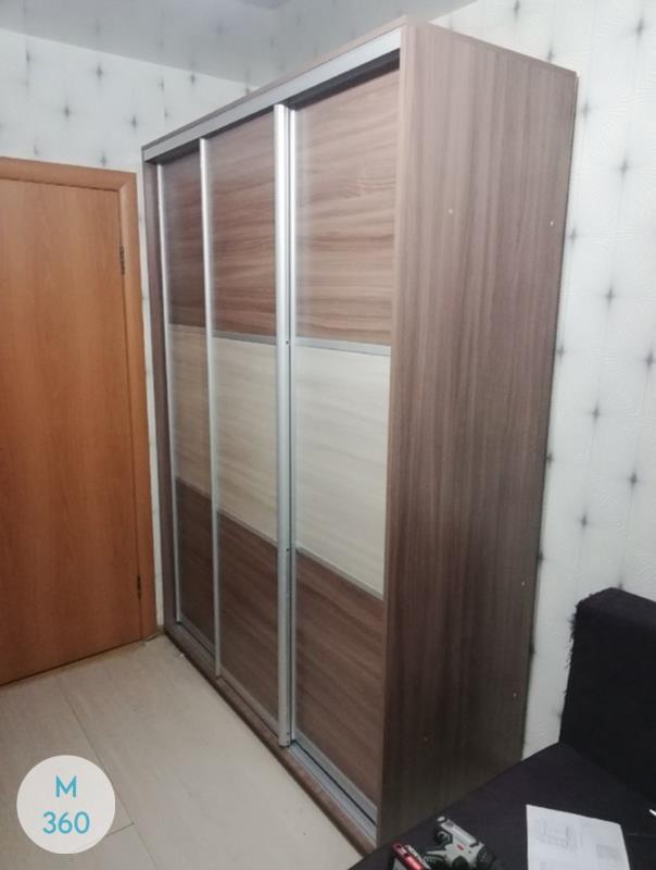 Радиусный шкаф с зеркалом Сонома Арт 000933517