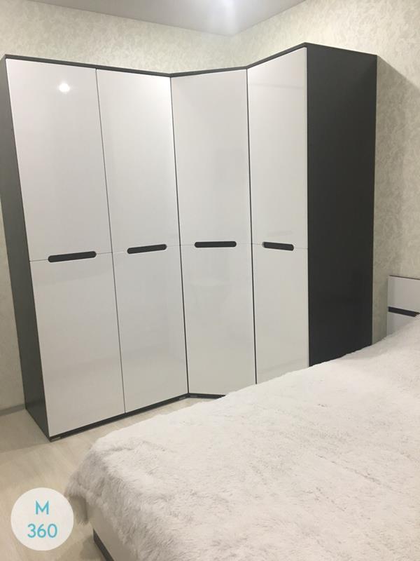 Белый распашной шкаф Филадельфия Арт 001289250