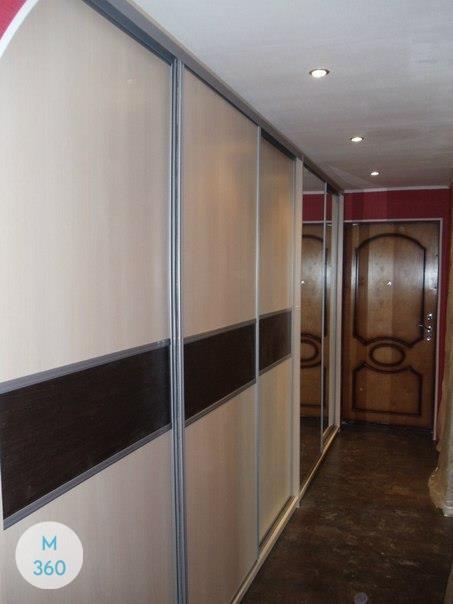 Шкаф купе с кожаными вставками Липецк Арт 001603612