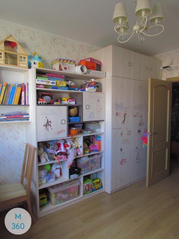 Детский шкаф для одежды Доменика Арт 001847537