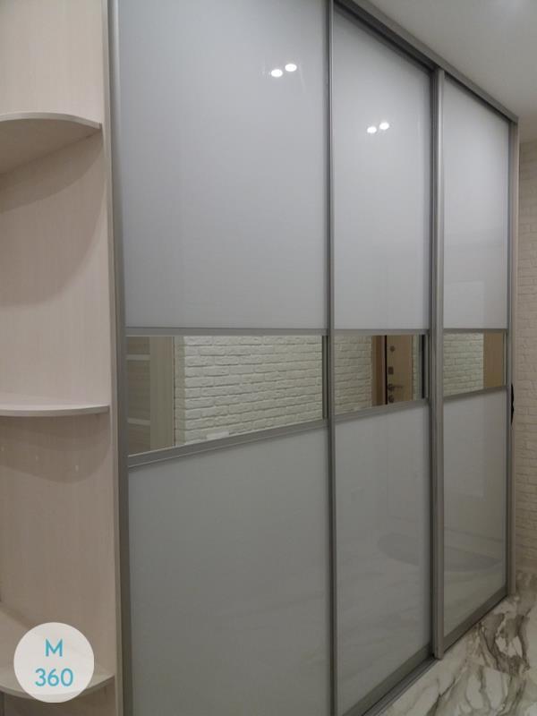 Белый радиусный шкаф Вюрцбург Арт 002436747