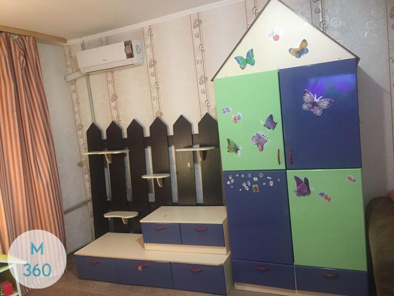 Шкаф домик Пейдж Арт 002520212