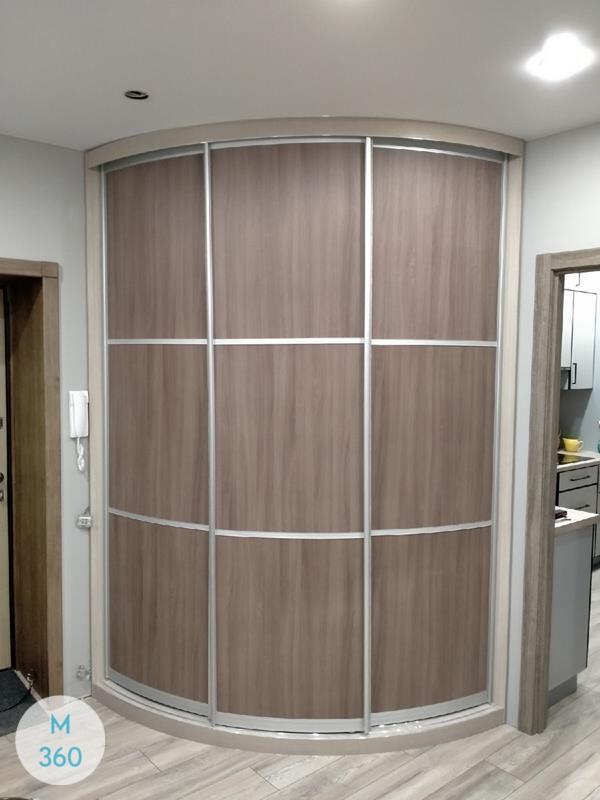 Выпуклый радиусный шкаф Рамзай Арт 002846464