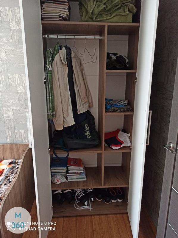 Шкаф пенал для одежды Абердин Арт 002954305
