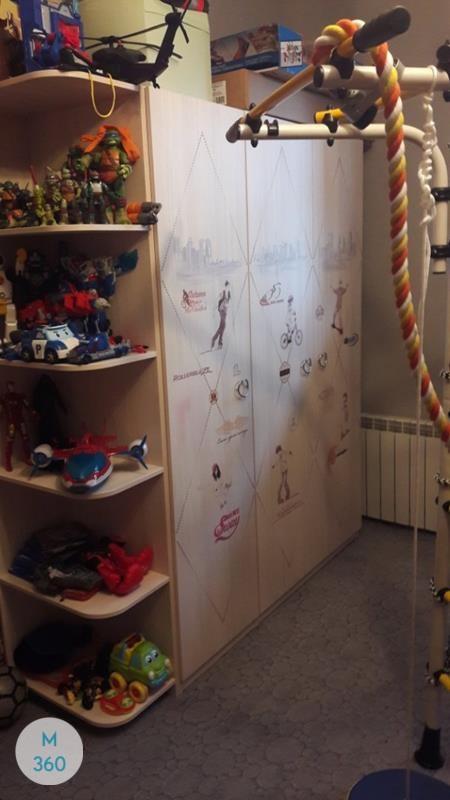 Распашной шкаф МДФ Салерно Арт 003052681