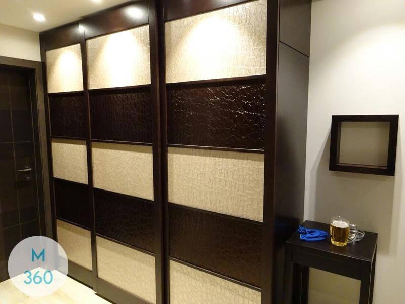Шкаф купе с кожаными вставками Сьюзан Арт 003362182