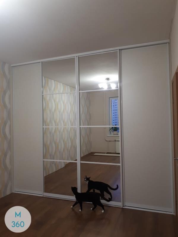 Белый радиусный шкаф Ноксвилл Арт 004036285