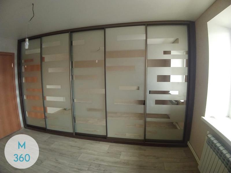Шкаф купы с пескоструйным рисунком Оклахома-Сити Арт 004459678