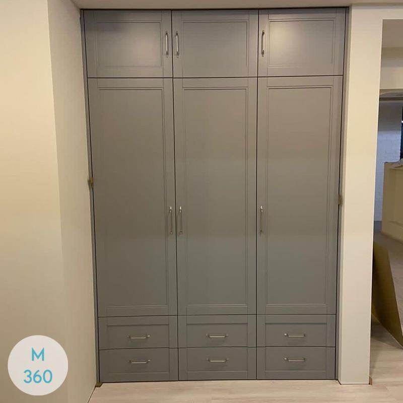 Шкаф пенал для одежды Акулина Арт 004687527