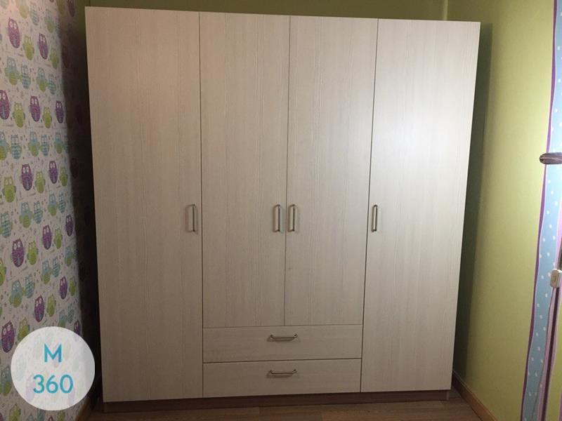 Распашной шкаф для белья Толидо Арт 005045933