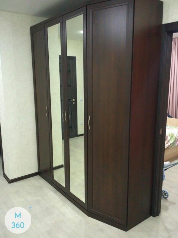 Шкаф с фацетными зеркалами Чатем-Кент Арт 005653343
