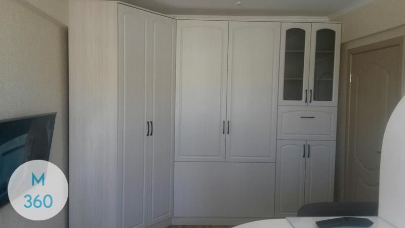 Распашной шкаф со стеклянной дверью Порт-Сент-Люси Арт 005791303