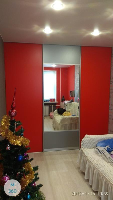 Красный шкаф купе Карлайл Арт 006102939