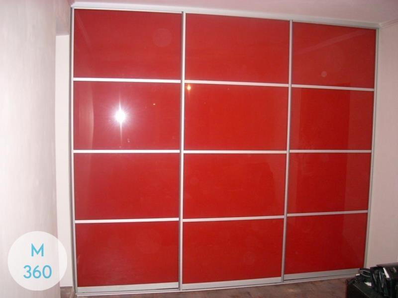 Красный шкаф купе Аккра Арт 006173712