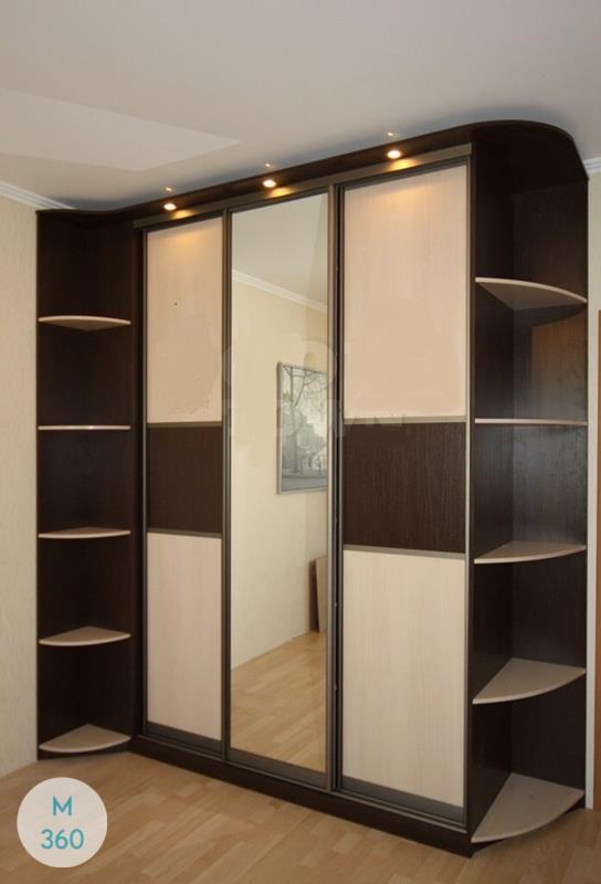 Шкаф купе с кожаными вставками Марселло Арт 006595470