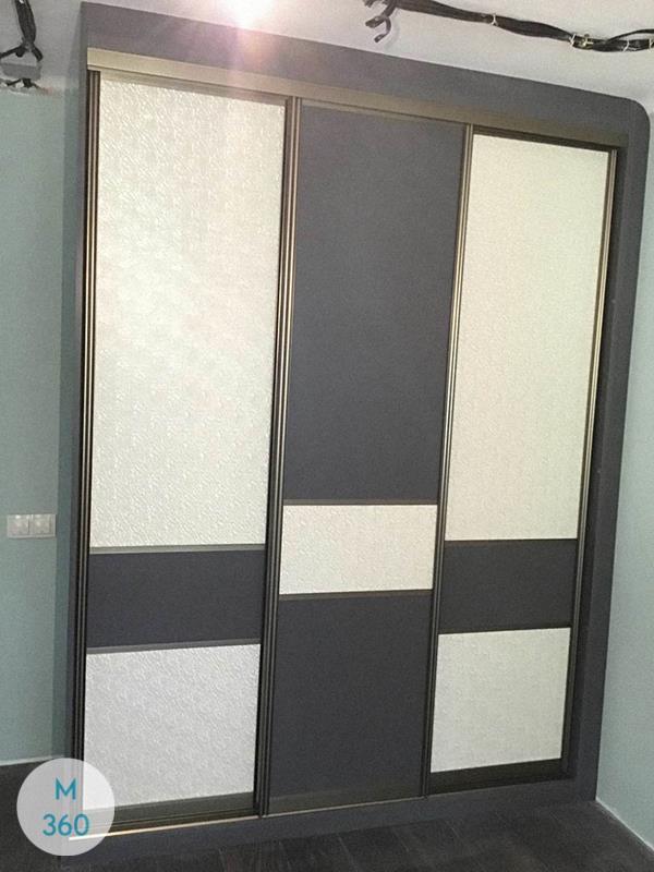 Шкаф купе с кожаными вставками Лора Арт 006739113