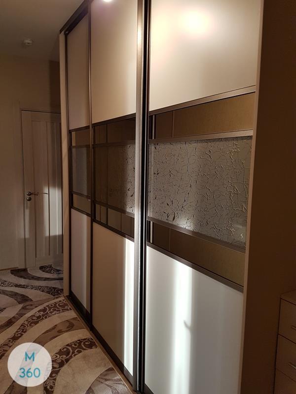 Шкаф купы с пескоструйным рисунком Бриджтаун Арт 007417180