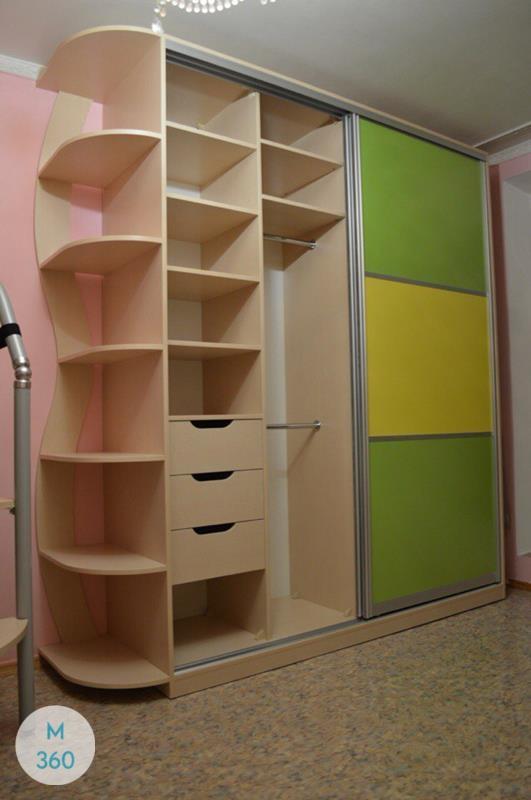 Цветной шкаф купе Инганнаморте Арт 007713063