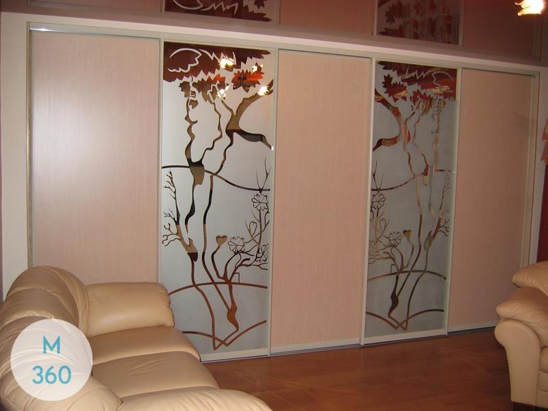 Шкаф купы с пескоструйным рисунком Андорра-Ла-Велья Арт 007744147