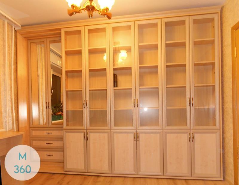 Распашной книжный шкаф Александра Арт 008010345