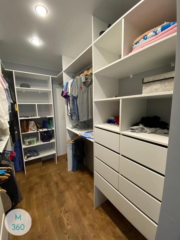 Большая гардеробная Белая Арт 008096156