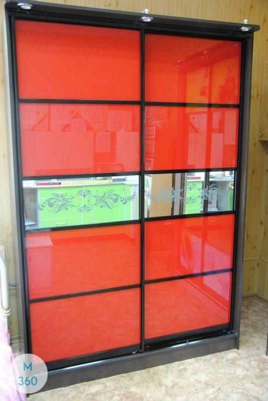 Красный шкаф купе Чаттануга Арт 008259395
