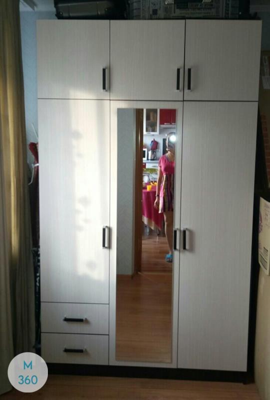 Шкаф из ДСП распашной Боулдер Арт 008632148