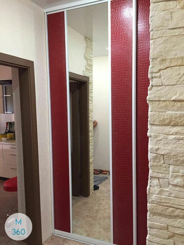 Красный шкаф купе Валлетта Арт 008649005