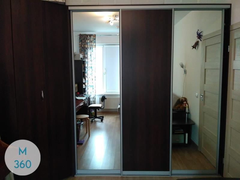Шкаф купе с зеркальными дверями Майами-Гарденс Арт 009025378