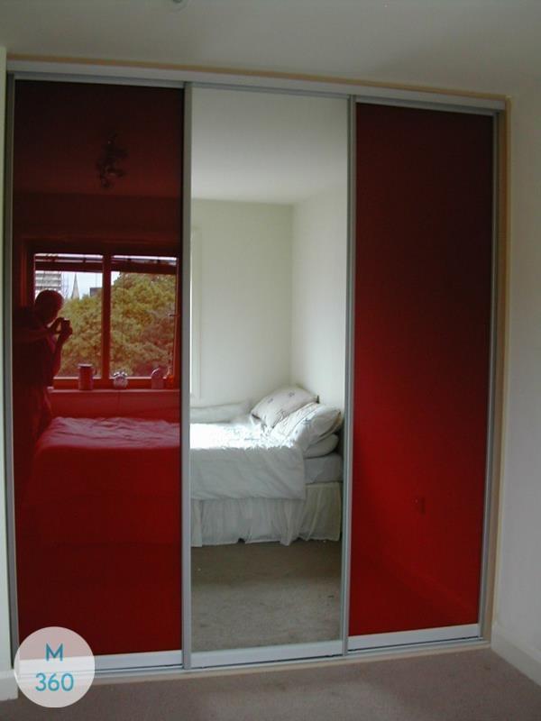 Красный шкаф купе Уитби Арт 009253001